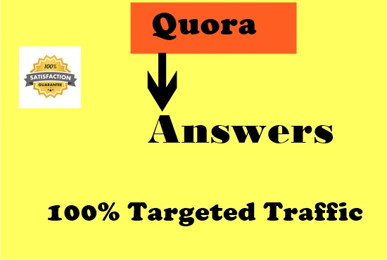 Create your website with 10 High Quality Quora answers