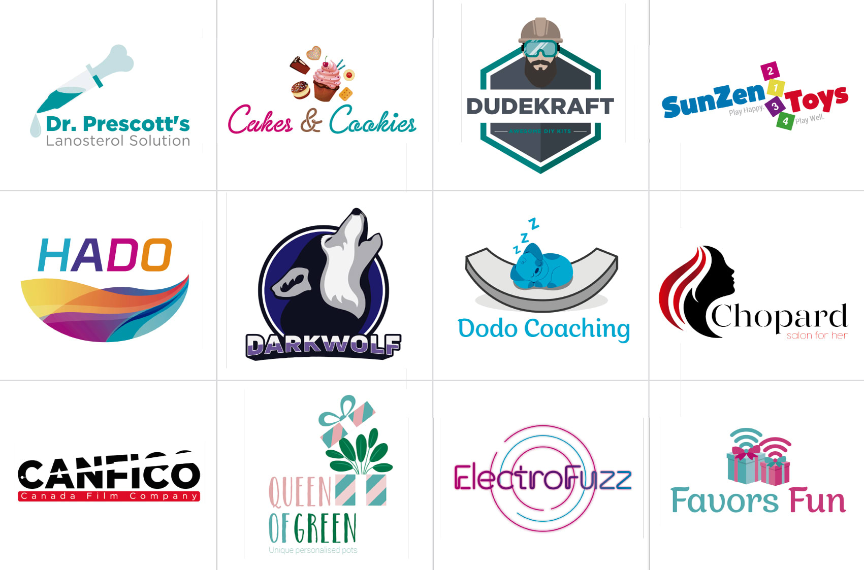I will design a logo for your brand,  product or business