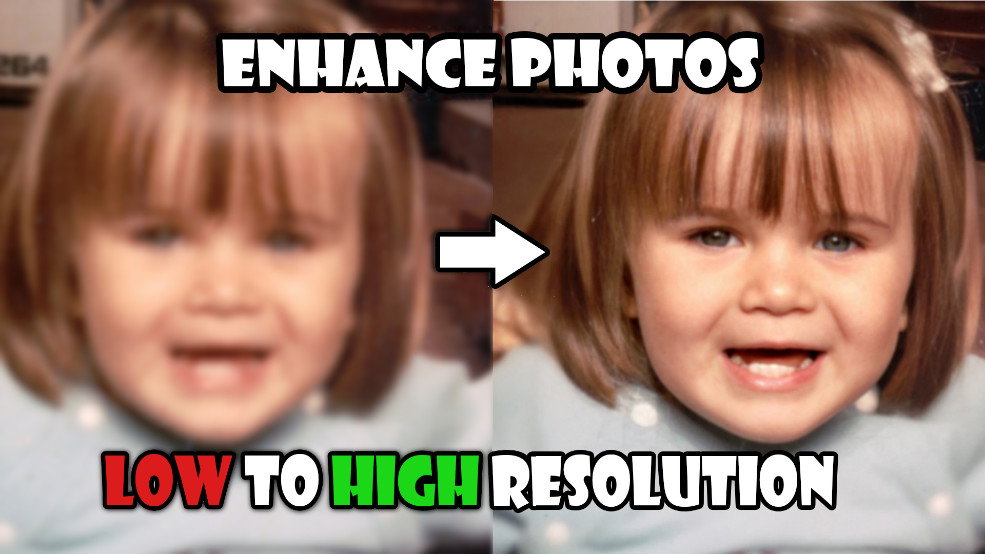 I will improve images quality,  restore,  enhance,  increase photos