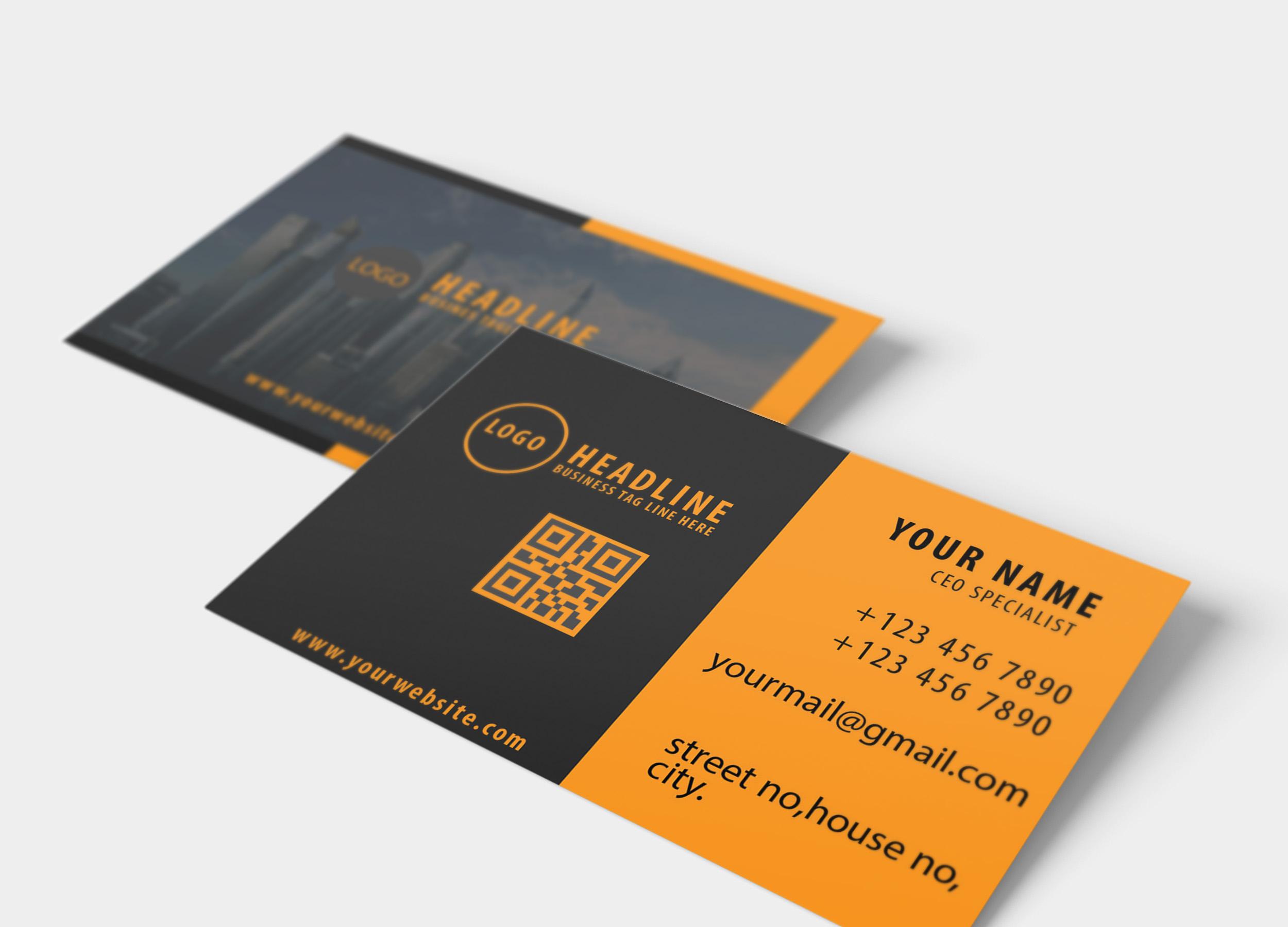I will design creative business card