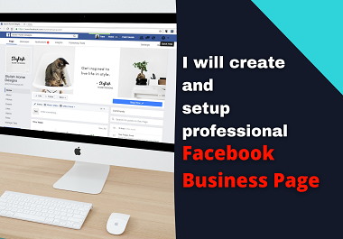 I will set up and optimize your facebook business page for your business