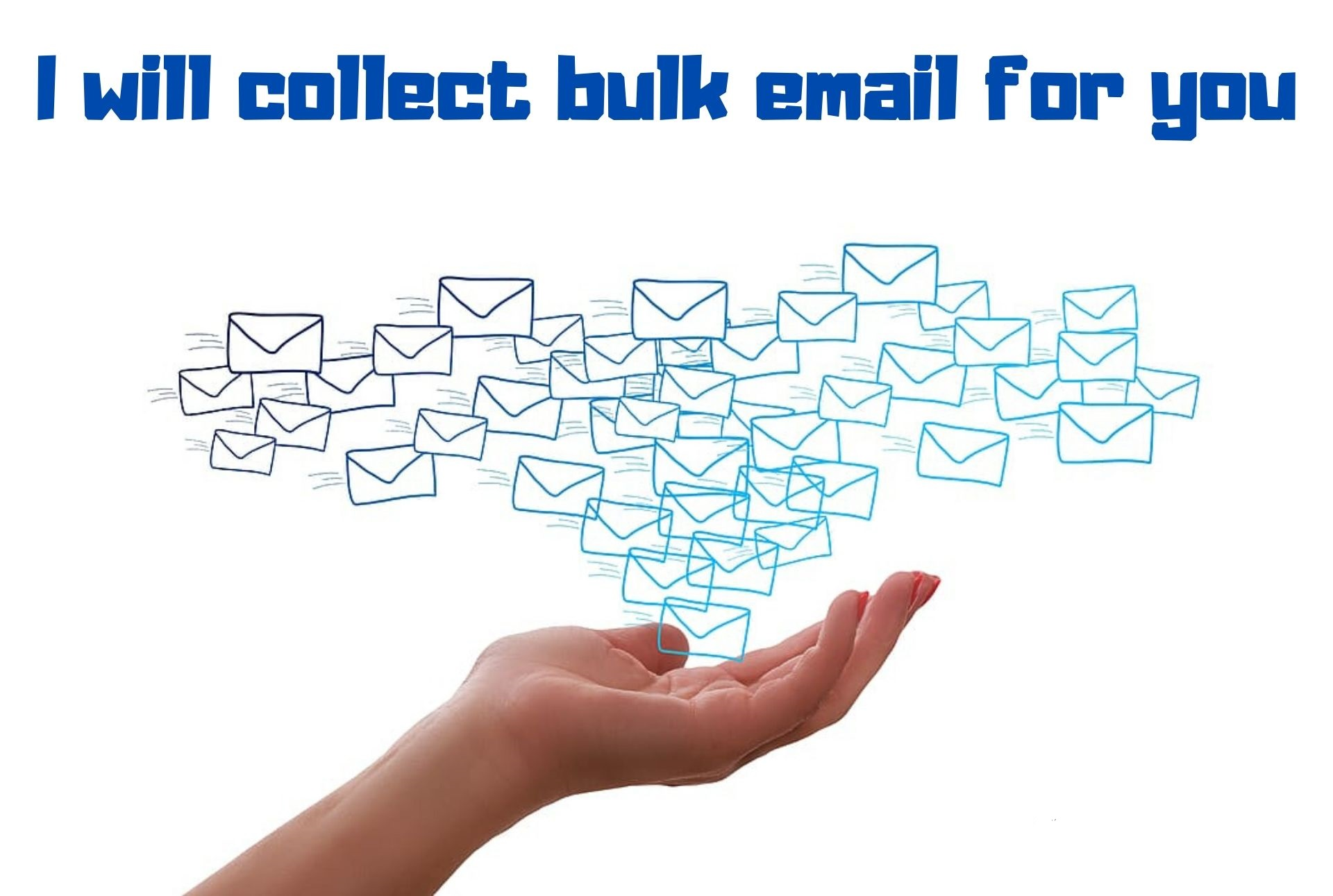 I will collect 1000 targeted bulk email for you