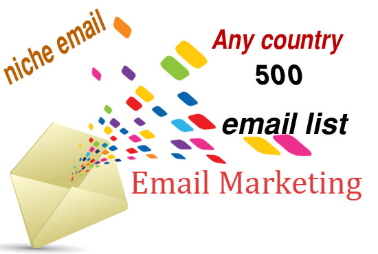 I will collect targeted bulk email list from any location