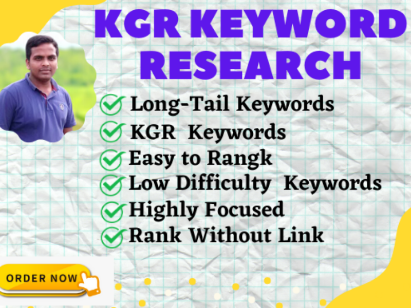 KGR Keyword Research for your amazon Affiliate Site