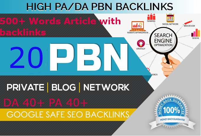 premium 20 Back-link with high DA70+ PA 40+, DOFOLLOW with 20 Unique website link