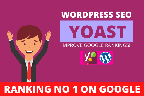 I will do wordpress on page SEO with yoast in 12 hours