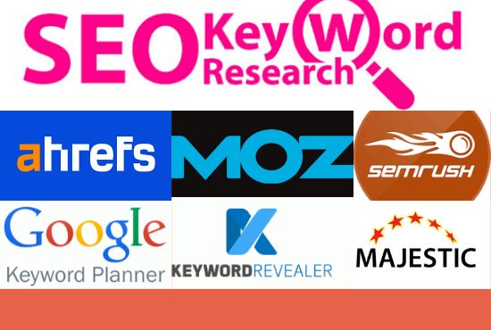I will do excellent SEO Keyword Research with tools
