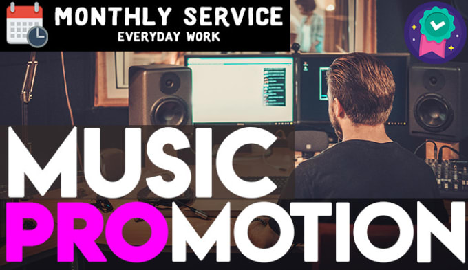 I will do organic music promotion to real listeners audience