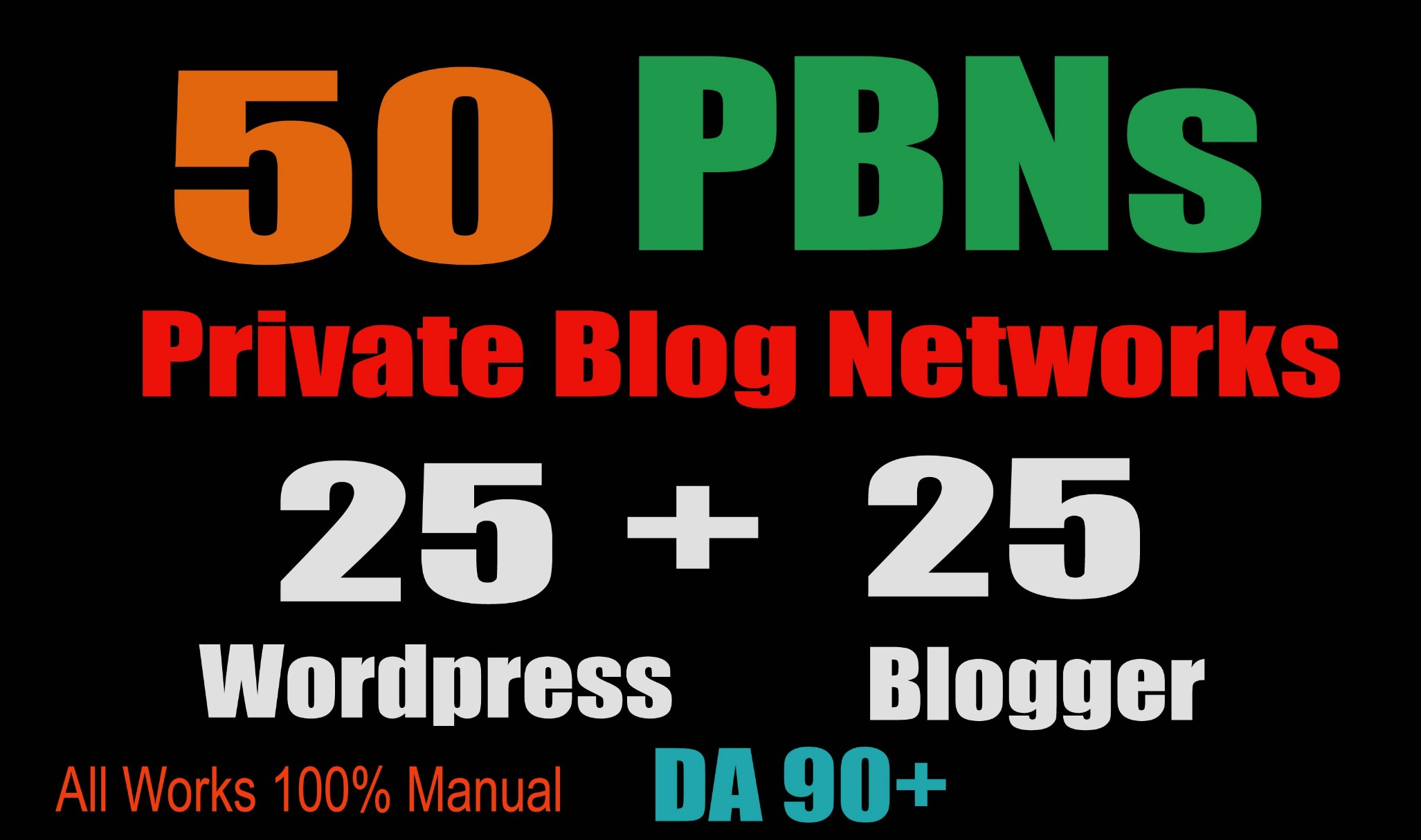 50 PBN POSTs Blogger and WordPress 90 High DA