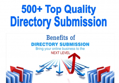 Your website can be linked to 500 directories