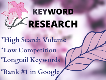 I will provide SEO keyword research and competitor analysis for your site