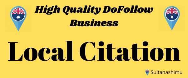 I will high quality 60 local citations or local listing high authority backlinks for your website