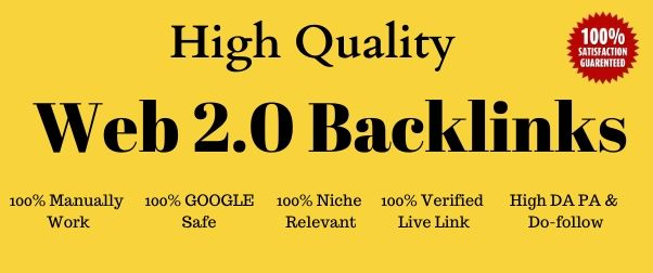 High Quality 25 Web2.0 Blog Backlinks With Login Info