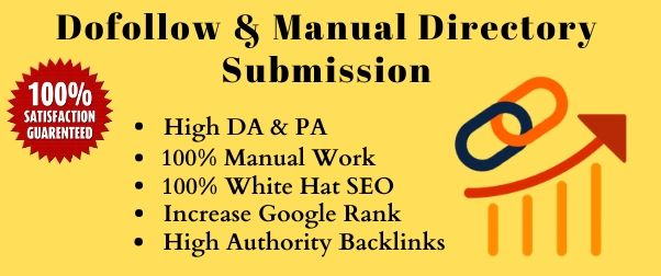 I will do high quality 50 directory submission for website