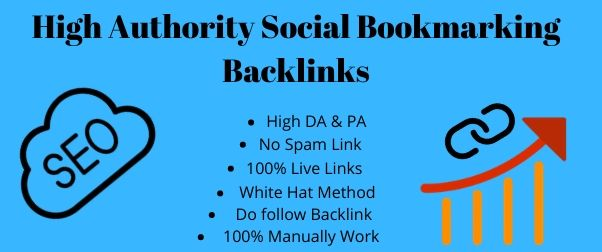 I will provide top 60 high quality social bookmarking backlinks for your website