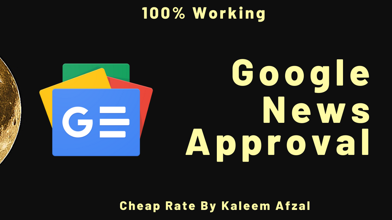 I will approve your website on google news