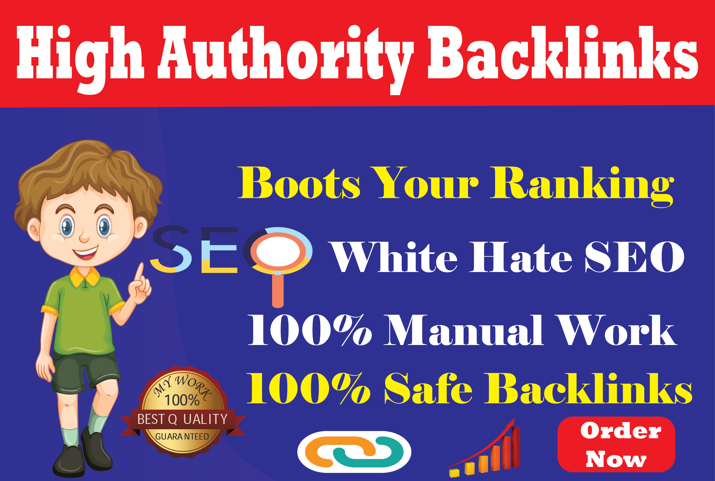 I will do 200 off-page SEO backlinks to improve website ranking