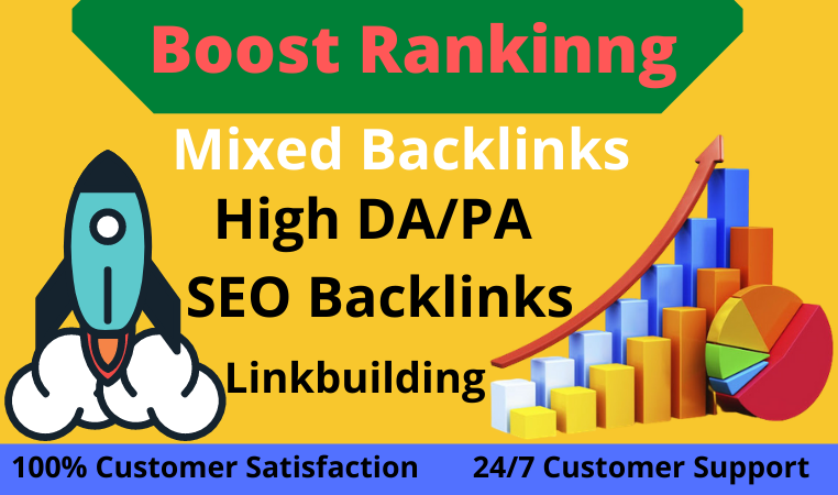 250+ permanent SEO Backlinks & linkbuilding Combo package for boost your ranking