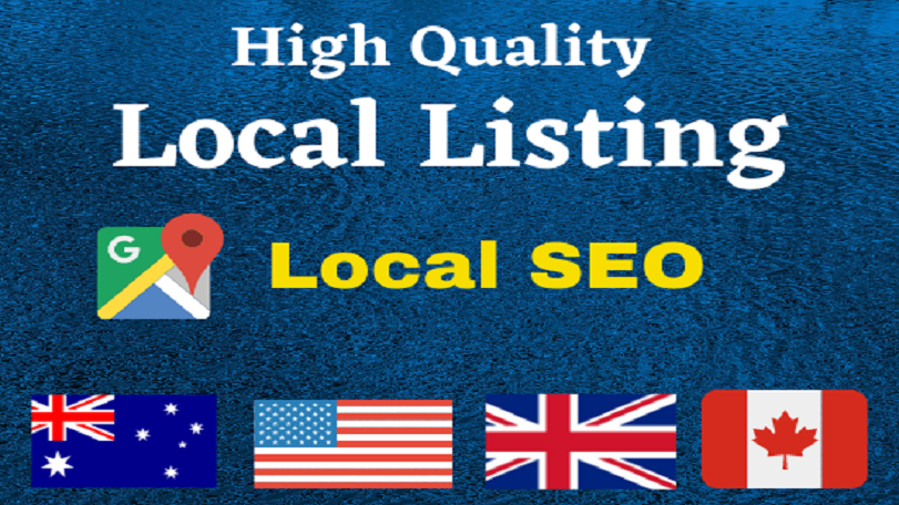 I will create 20 USA,  UK,  CA,  AUS local listing or local citations for local SEO