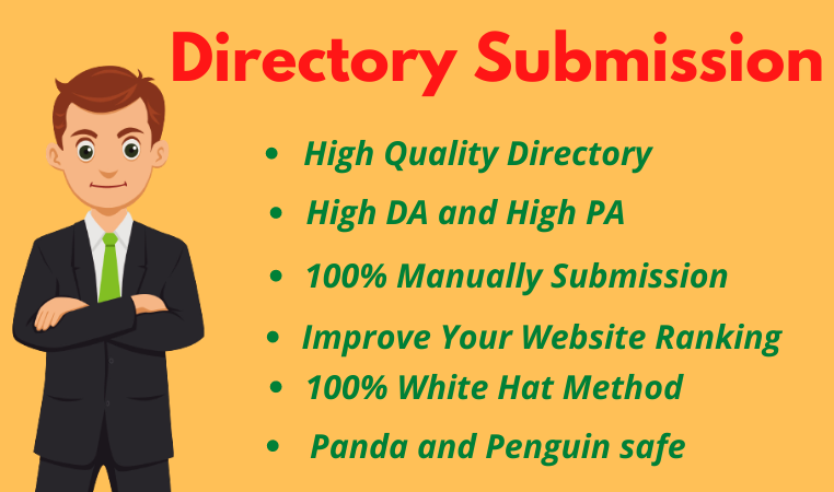 I will provide 40 high-quality directory submission backlinks
