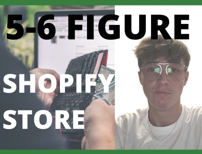 I will build an automated shopify dropshipping store