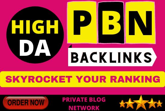 Get 5 PBN Backlinks from High DA Dofollow Permanent Links
