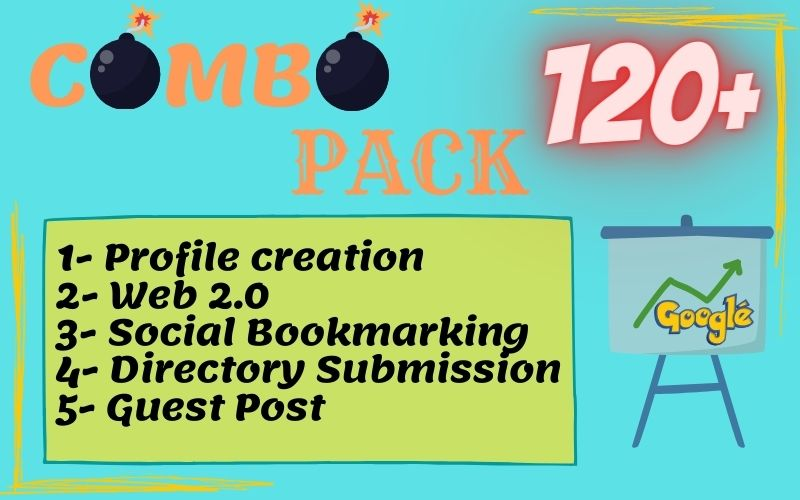 120+ Effective And Manually Done Back-links Package To Improve Your Ranking Toward Page 1