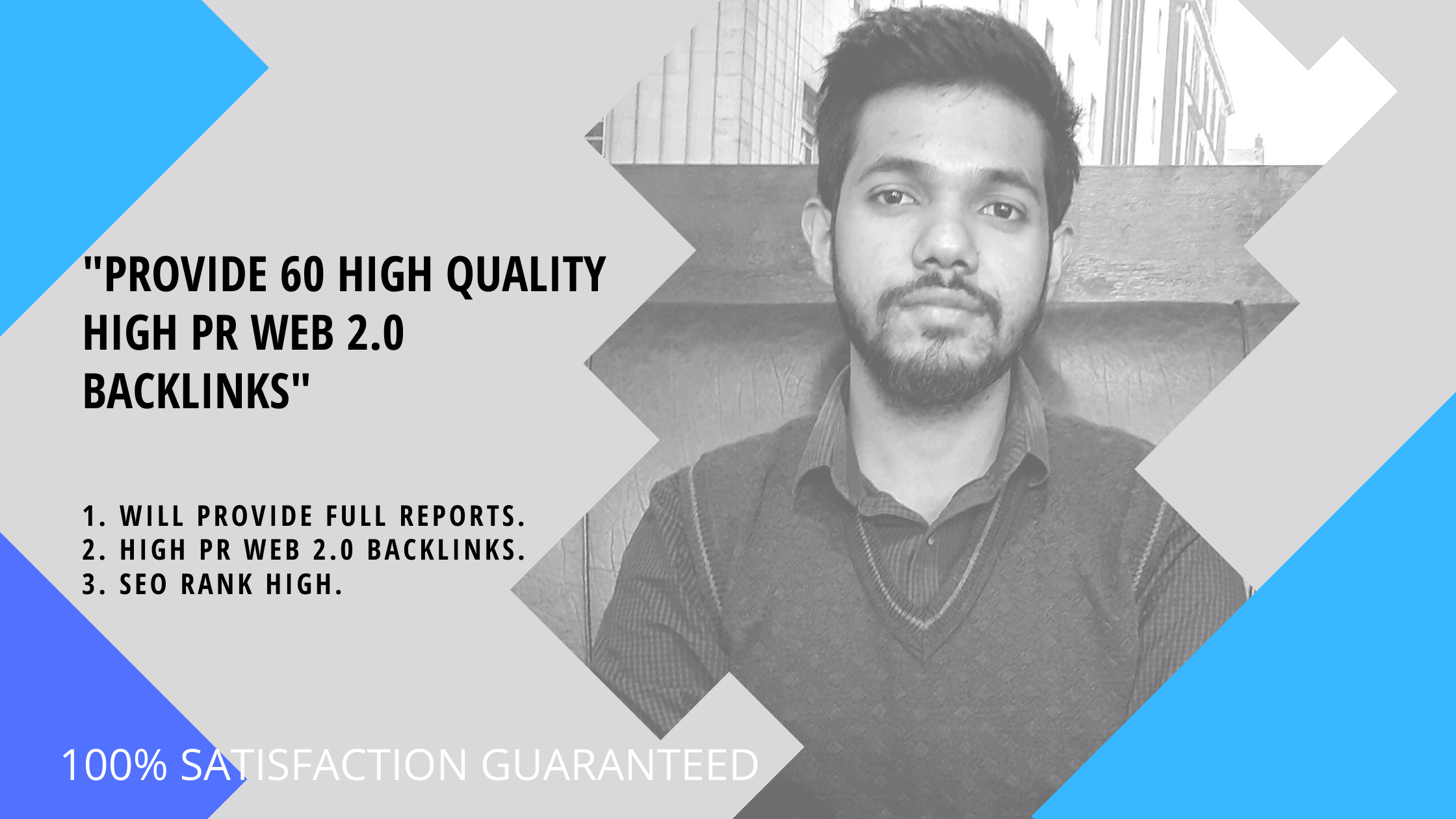 I Will Provide 60 High Qality Web 2.0 Profile Backlinks
