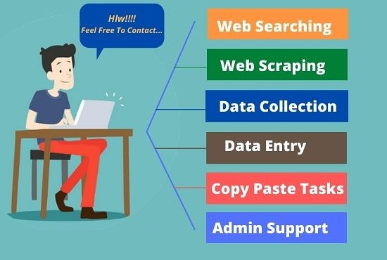 Do Excel Data Entry And Web Research Professionally..