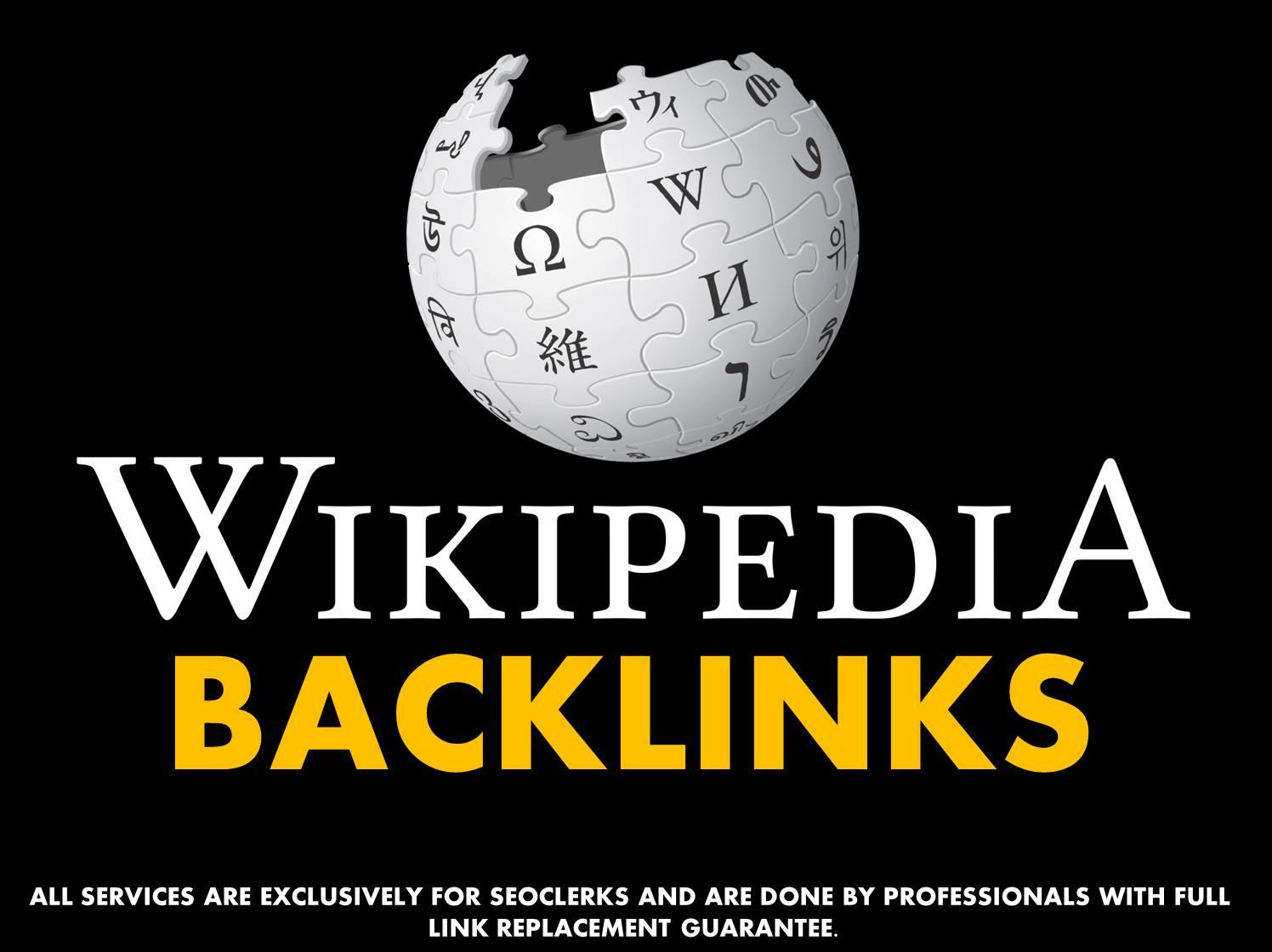 Powerful Wikipedia Backlink Percent Niche Relevant