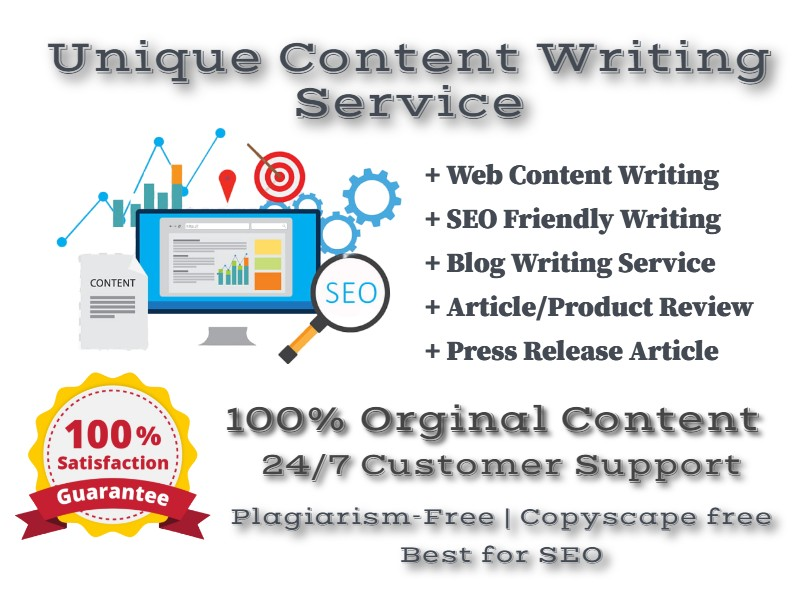 1000 Word SEO Friendly Article or Content Writing Service Any Topic