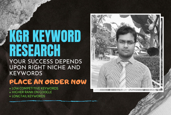 I will provide best keyword research for your site