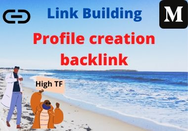 I will Do 35+ High Authority social profile creation backlink building