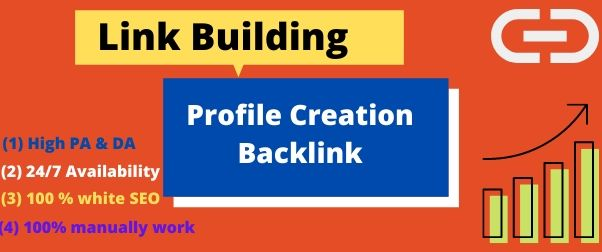 I will do 50 High Authority social profile creation backlink building