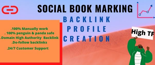 I will provide 30 social books marking for your website