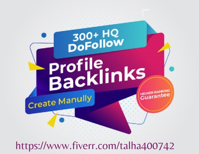 I will create 300 profile links for the ranking of your website