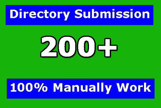 I will do 200 High-quality directory submission