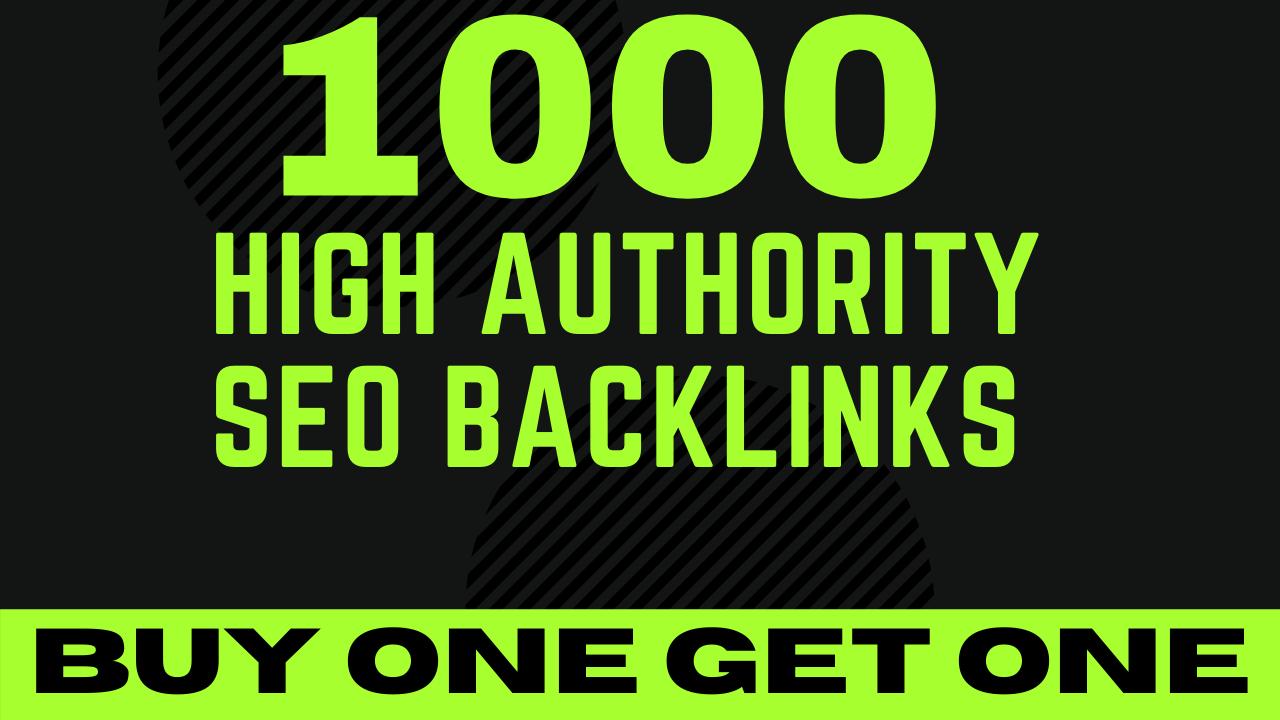 1000 backlinks BUY MANUALLY DA 50+ PA 60+ web 2.0 1000 Powerful web2.0 backlinks