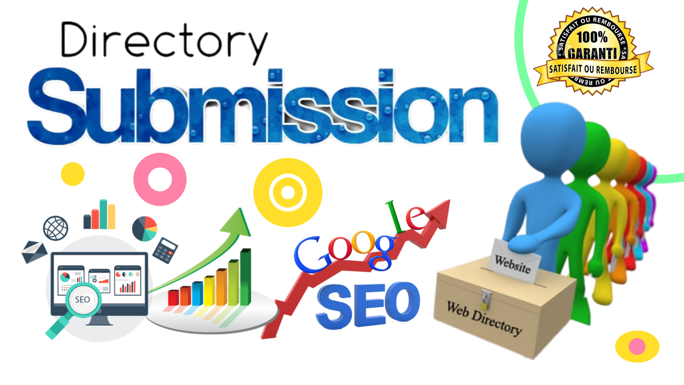 I will provide 200 directory submission SEO backlinks