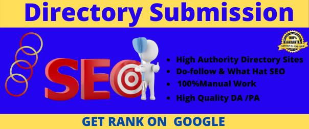 50 Directory Submission on High PR Website