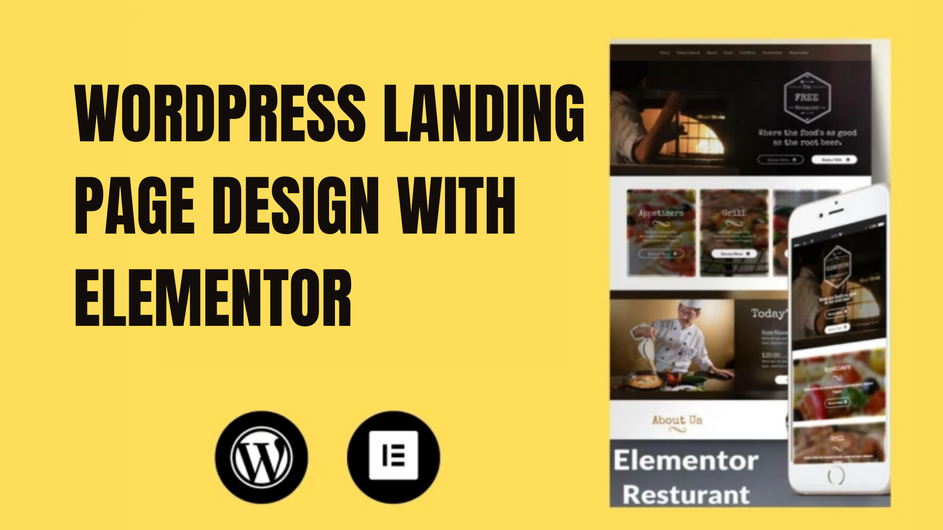 I will design modern wordpress landing page elementor and elementor pro landing page
