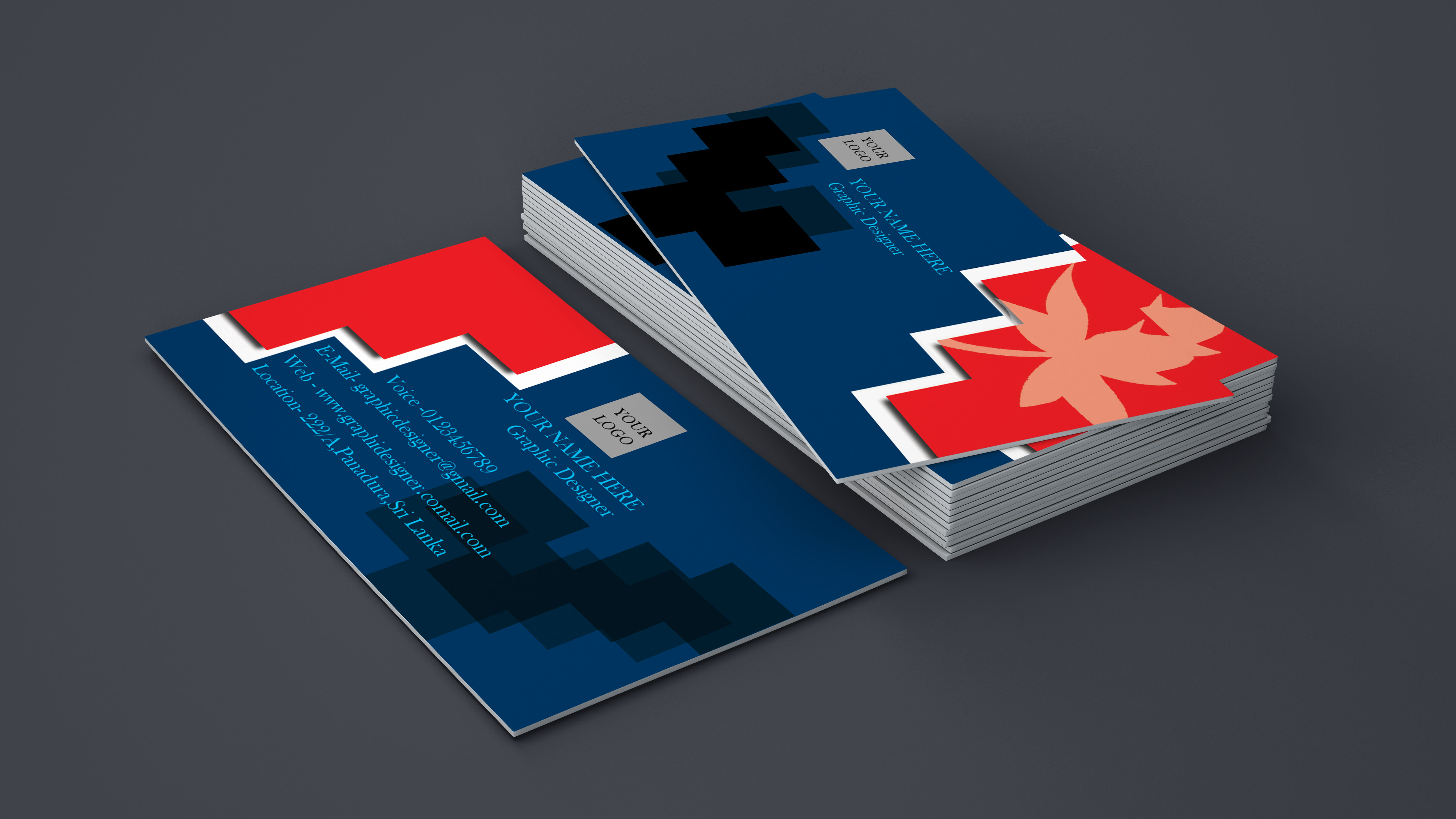 I will create your Business card design for your new brand with new concept as you need in one day