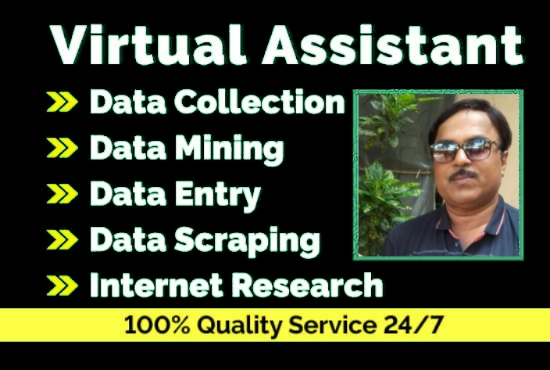 I will do perfect excel data entry,  mining,  web research,  scraping,  email list
