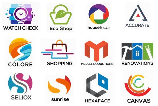 I will design modern minimalist, flat logo in 24 hrs