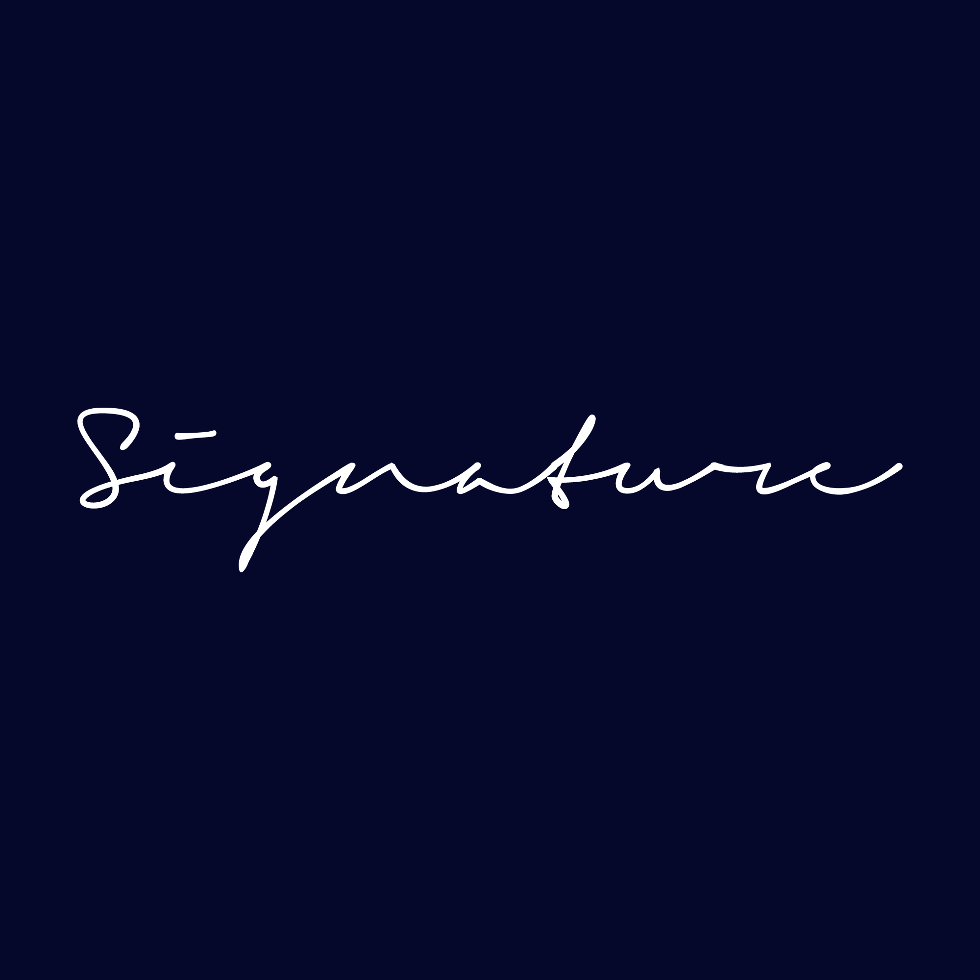 I will design modern signature logo in 12hrs
