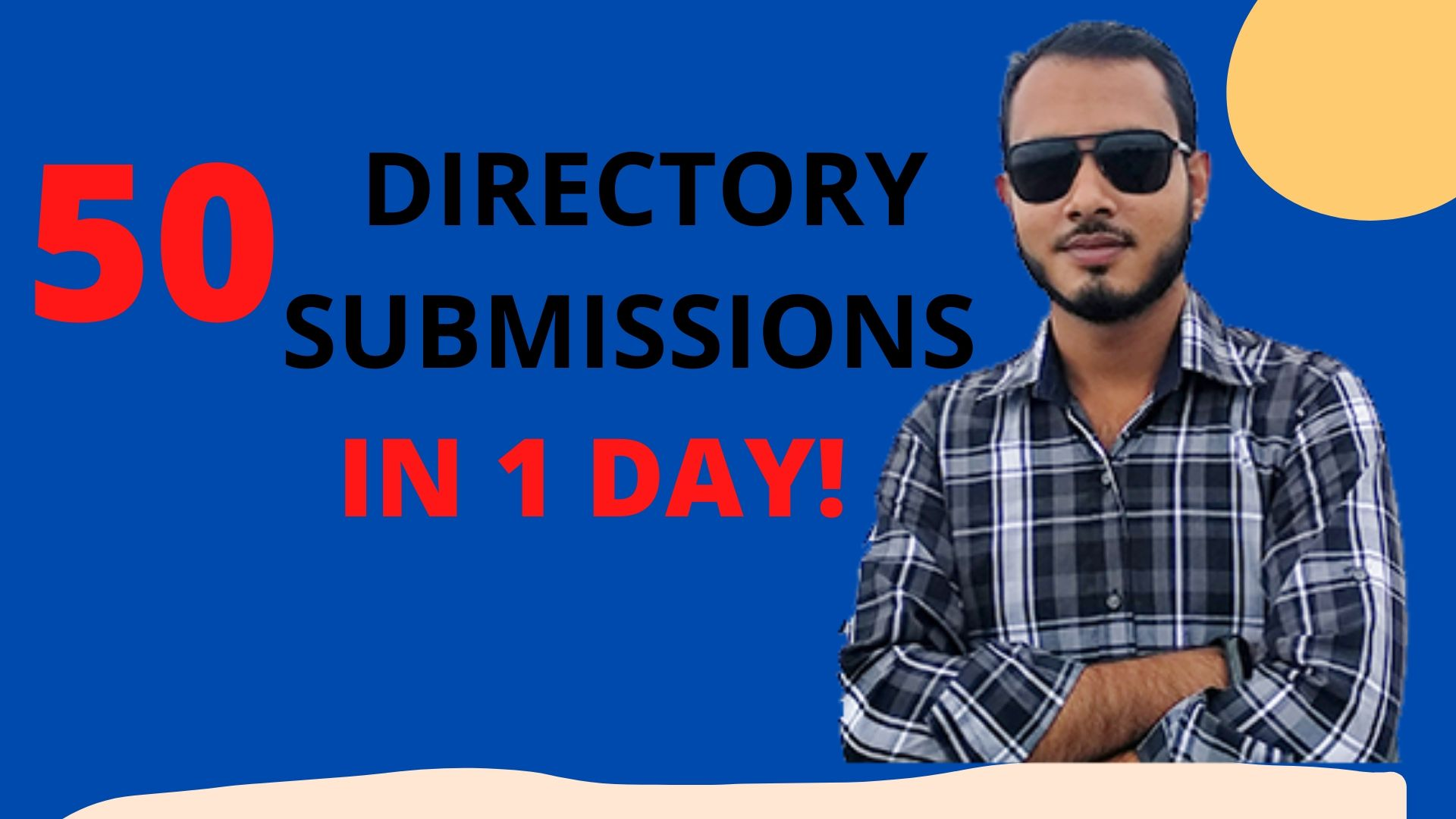 I will create you 50 directory submission