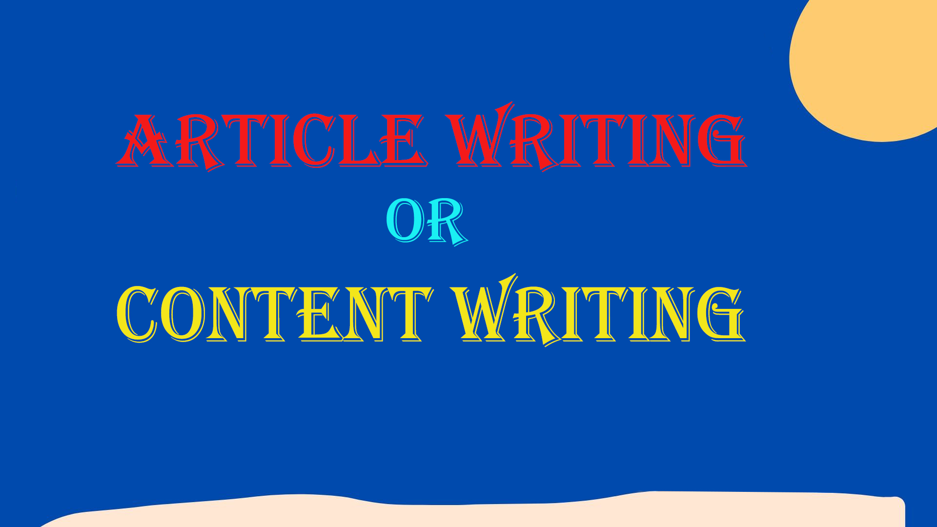 400 words article writing, blog writing, content writing.