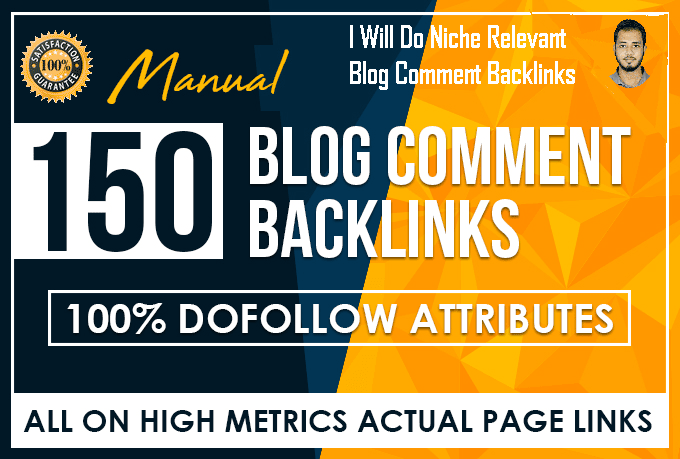 I will make 100 important blog comment backlinks.