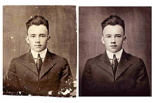 i can do restore, retouch, repair, and colorize your old photo can do restore, retouch, repair, and