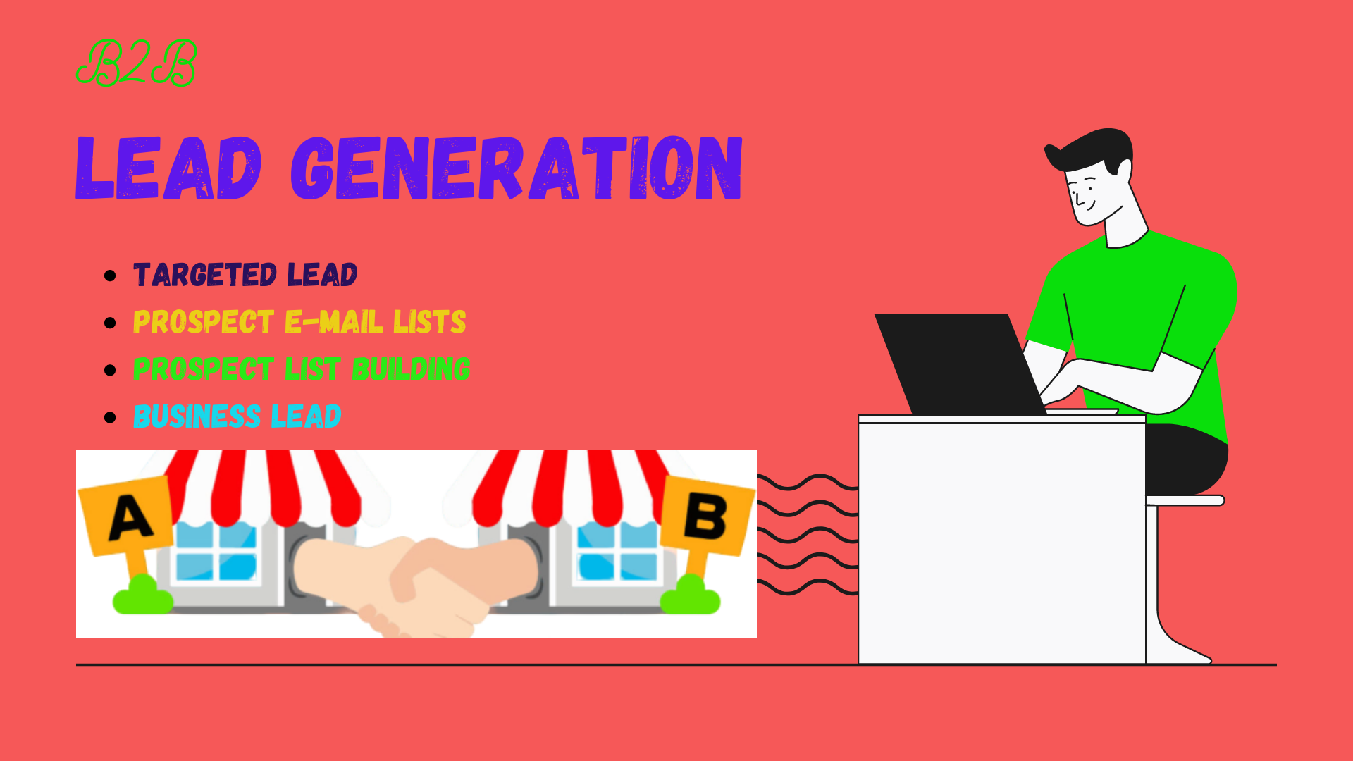 I will create 100 b2b lead generation and prospect email list building